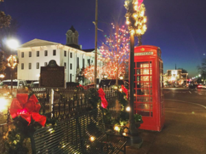 The Oxford Square during Winter Holidays