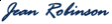 Jean Robinson's Signature